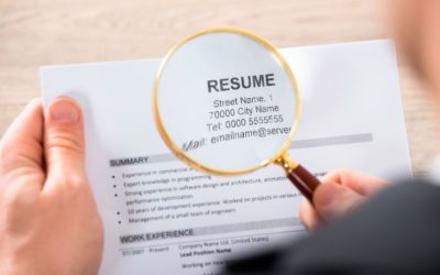6 quick tips for reviewing job resumes