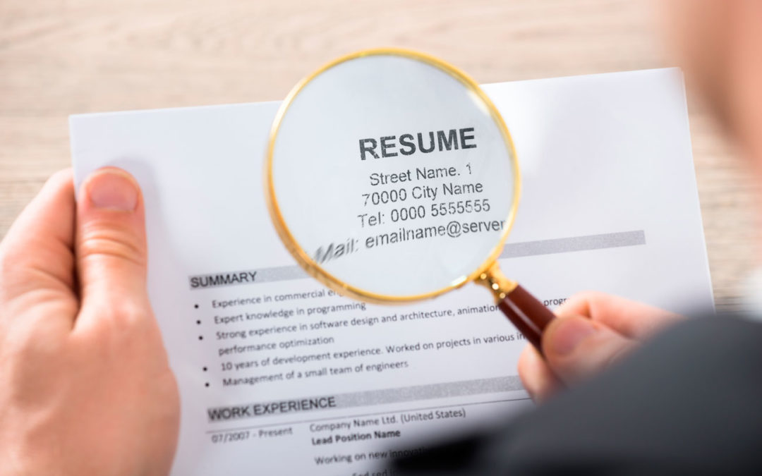 6 Quick Tips For Reviewing Job Resumes Atl Search Group